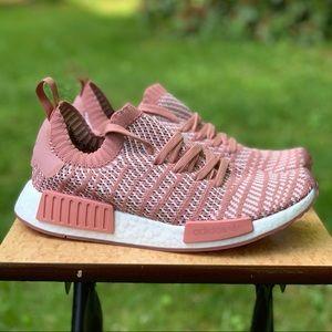 NEW Adidas NMD R1 STLT Primeknit Ash Pink Womens 9